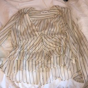 Tops - Pin stripe blouse